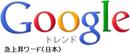 今日の急上昇ワード - Google